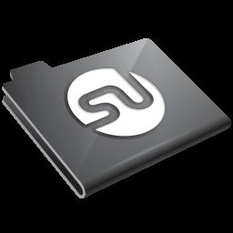 Stumbleupon Grey Icon 256x256 png
