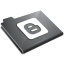 Blogger Grey Icon 64x64 png
