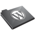 Wordpress Grey Icon 72x72 png