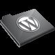 Wordpress Grey Icon 80x80 png