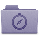 Purple Sites Folder Icon
