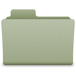 Green Generic Folder Icon 256x256 png
