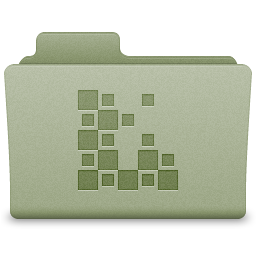 Green Icons Folder Icon 256x256 png