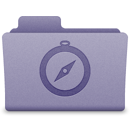 Purple Sites Folder Icon 256x256 png