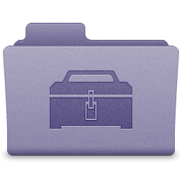 Purple Toolbox Folder Icon 256x256 png