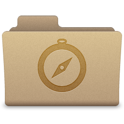 Yellow Sites Folder Icon 256x256 png