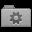 Grey Smart Folder Icon 32x32 png