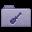 Purple Utilities Folder Icon 32x32 png