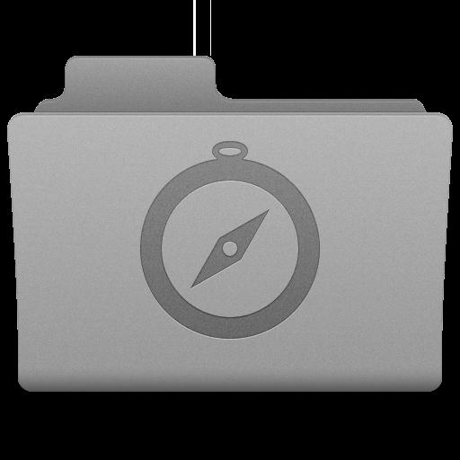 Grey Sites Folder Icon 512x512 png
