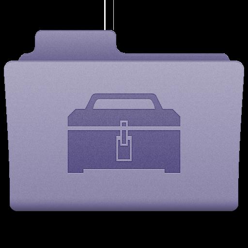 Purple Toolbox Folder Icon 512x512 png