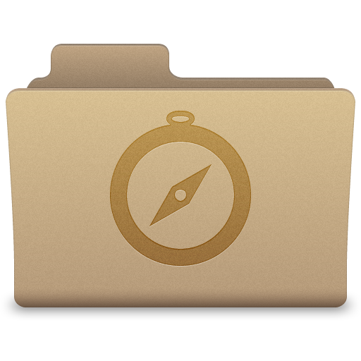 Yellow Sites Folder Icon 512x512 png