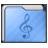 Folder Music Alt Icon 48x48 png