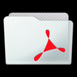 Folder Acrobat Icon 256x256 png