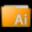 Folder Illustrator Icon 32x32 png