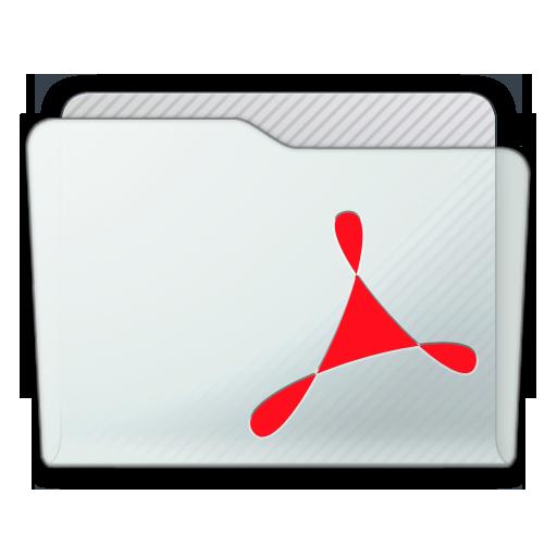 Folder Acrobat Icon 512x512 png