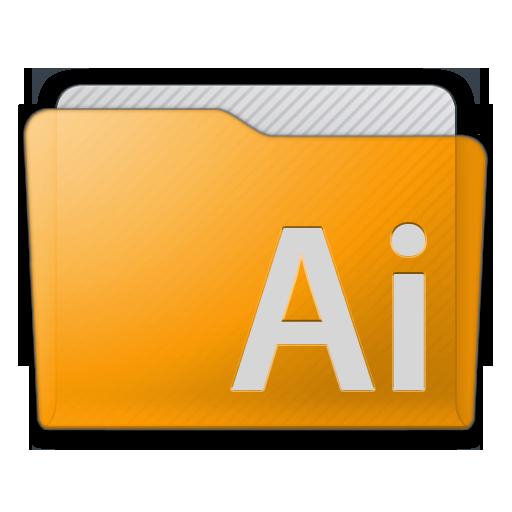Folder Illustrator Icon 512x512 png
