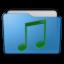 Folder Music Icon 64x64 png