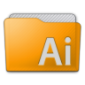 Folder Illustrator Icon 96x96 png