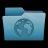 Folder Websites Icon 48x48 png