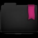 Ribbon Pink Folder Icon