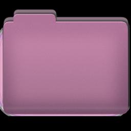 Folder Pink Folder Icon 256x256 png