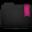 Ribbon Pink Folder Icon 32x32 png
