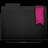 Ribbon Pink Folder Icon 48x48 png