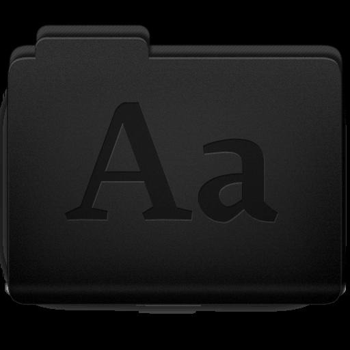 Fonts Folder Icon 512x512 png