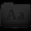 Fonts Folder Icon 64x64 png