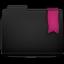 Ribbon Pink Folder Icon 64x64 png