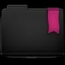 Ribbon Pink Folder Icon 96x96 png