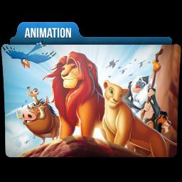 Animation Folder Icon 256x256 png