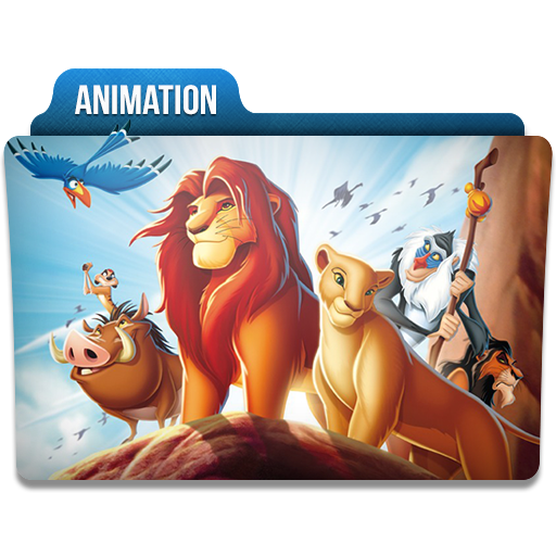 Animation Folder Icon 512x512 png