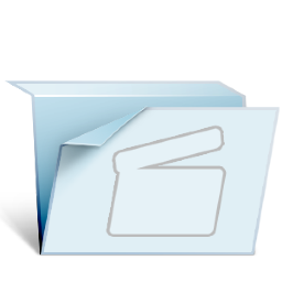 Folder Video Icon 256x256 png
