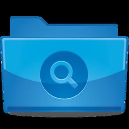 Folder Search Icon 256x256 png