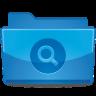 Folder Search Icon 96x96 png