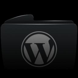 Folder WordPress Icon 256x256 png