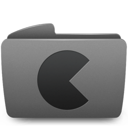 Folder Games Icon 256x256 png