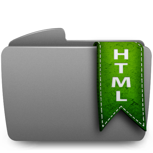 Folder HTML Icon 512x512 png