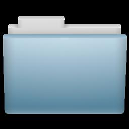 Sky Folder Icon 256x256 png