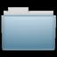 Sky Folder Icon 64x64 png