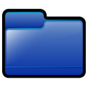 Generic Folder Blue Icon 128x128 png