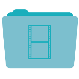 Movies Folder Icon 256x256 png
