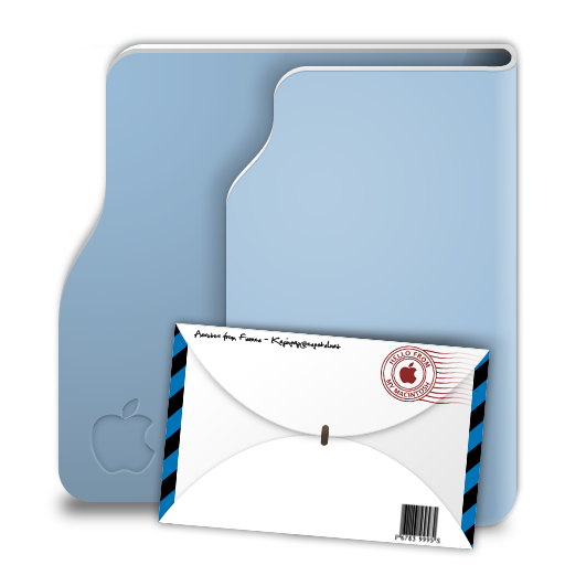 Aqua Terra Mail Icon 512x512 png