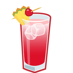 Singapore Sling Icon 256x256 png