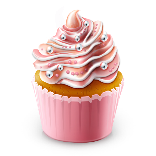 Cupcake Colored Icon 512x512 png