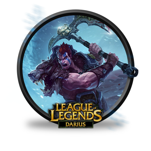 Darius Woad King Icon League Of Legends Icons Softicons Com