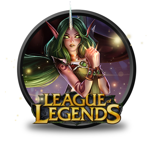Soraka Dryad Icon - League of Legends Icons - SoftIcons.com