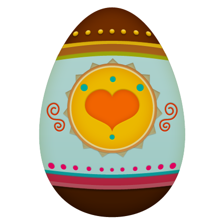 Easter Egg Icon 450x450 png