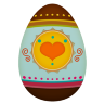 Easter Egg Icon 96x96 png